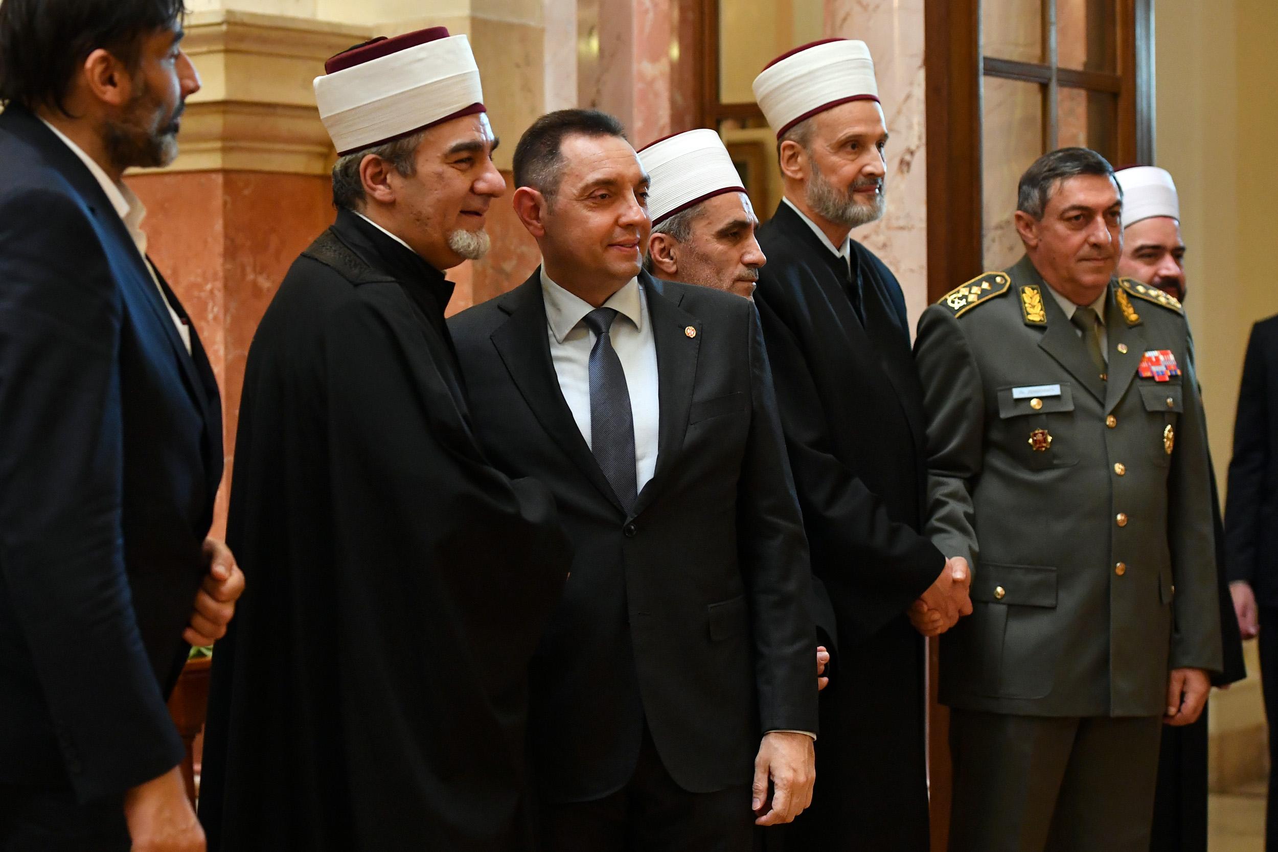 MINISTARSTVO ODBRANE - REAGOVANJE POVODOM 150 GODINA ISLAMSKE ZAJEDNICE SRBIJE